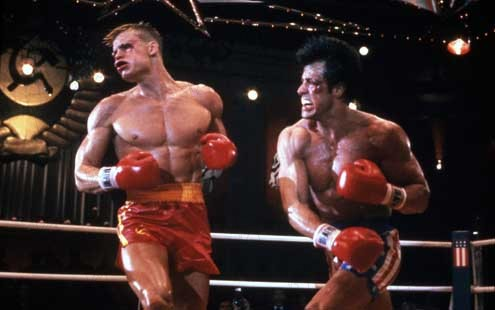 Rocky IV1985 rŽal. : Sylvester Stallone Dolph Lundgren Collection Christophel